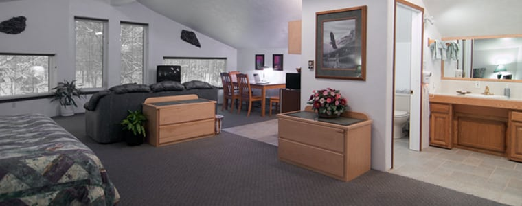 Wasilla lodging rooms, suites, vacation homes
