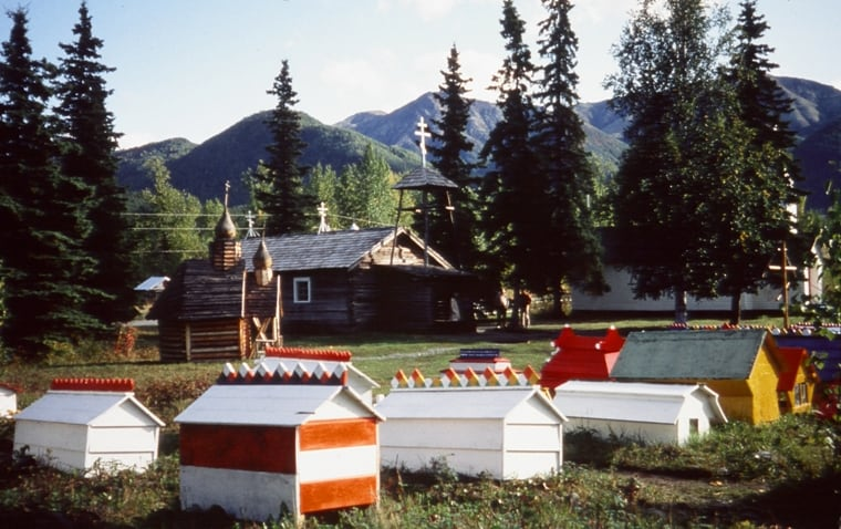 Eklutna Village Spirit Houses