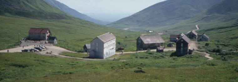 Hatcher Pass. Independence Mine 8 1994