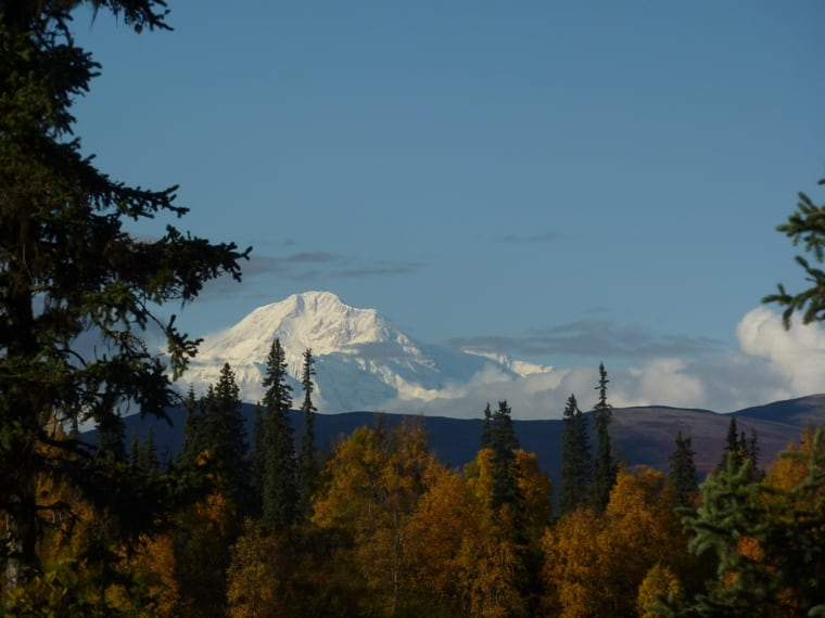 View Denali driving North