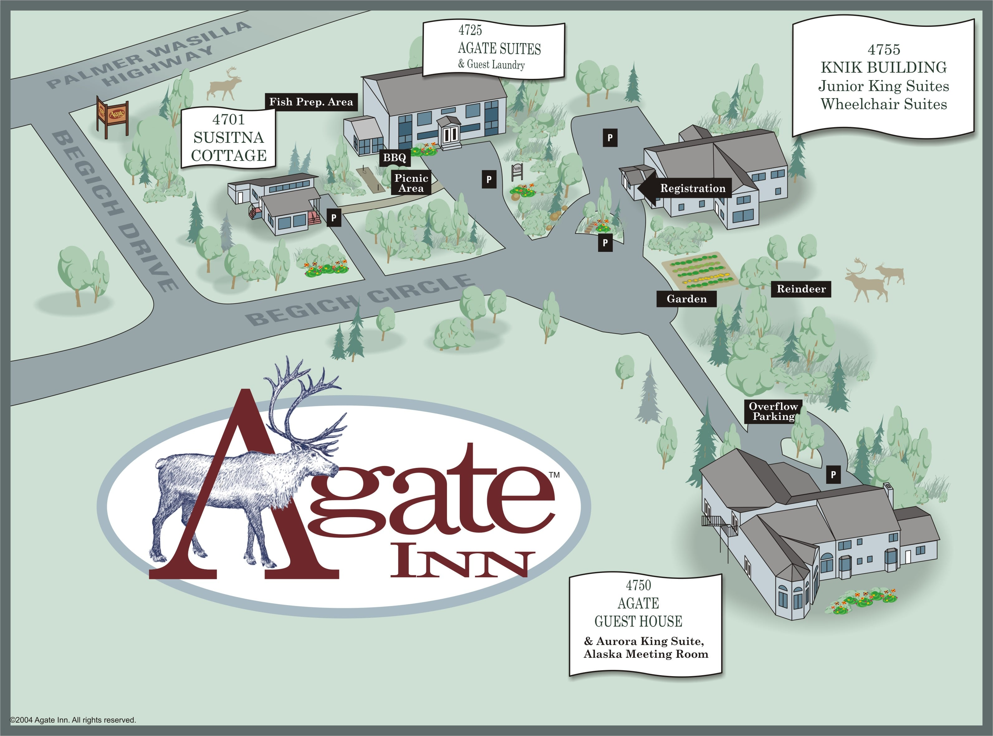 Agate Property Map